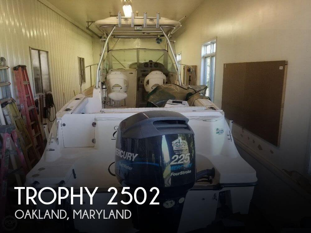Used Trophy Boats For Sale by owner | 2004 Trophy 2502
