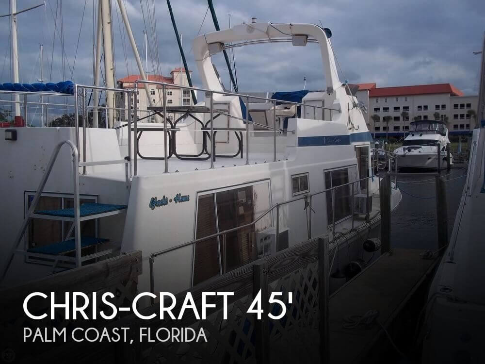 Used Motoryachts For Sale in Jacksonville, Florida by owner | 1986 Chris-Craft 45