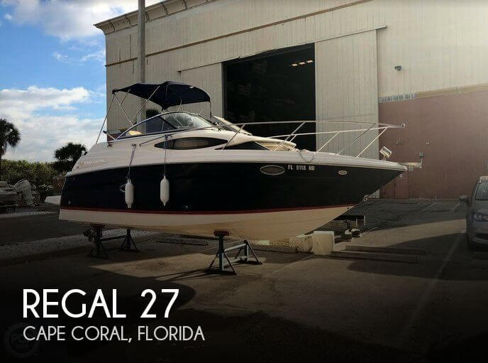 Used Regal 27 Boats For Sale by owner | 2006 Regal 27