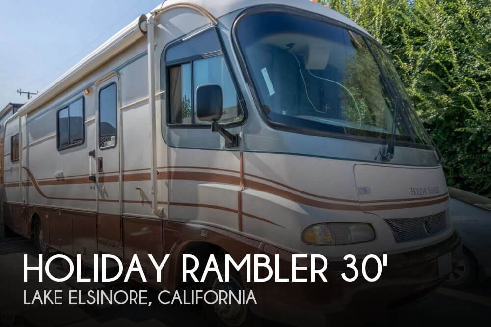 1996 Holiday Rambler Holiday Rambler Vacationer M 31 CB