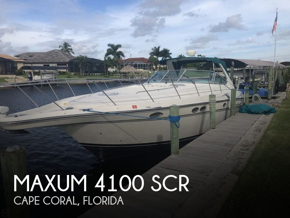 Used Maxum Boats For Sale by owner | 1997 Maxum 4100 SCR