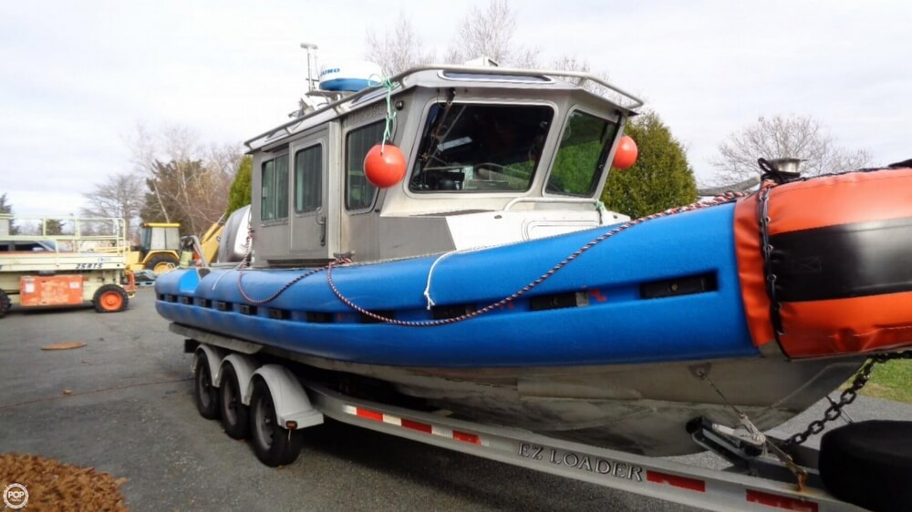 2005 SAFE Boats International boat for sale, model of the boat is 25 Defender Full Cabin & Image # 39 of 41