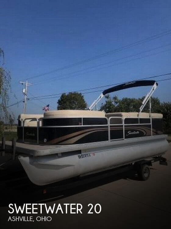Used Sweetwater Pontoon Boats For Sale by owner | 2014 Sweetwater 20
