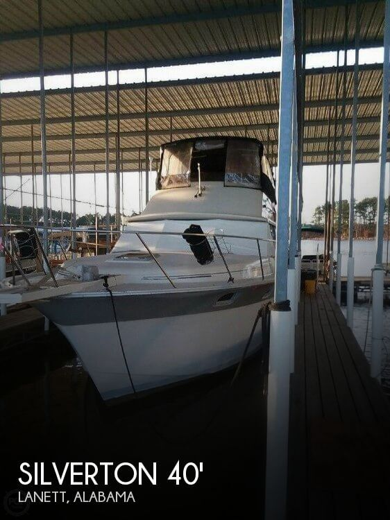 Used Boats For Sale in Columbus, Georgia by owner | 1988 Silverton 44