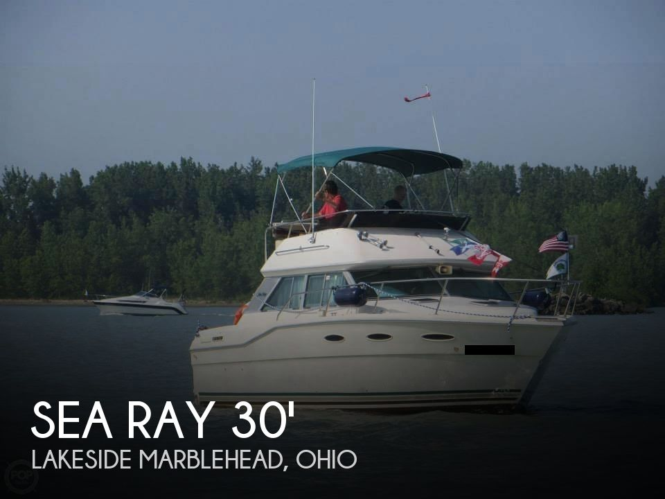 1985 Sea Ray boat for sale, model of the boat is 300 Sedan Bridge & Image # 1 of 40