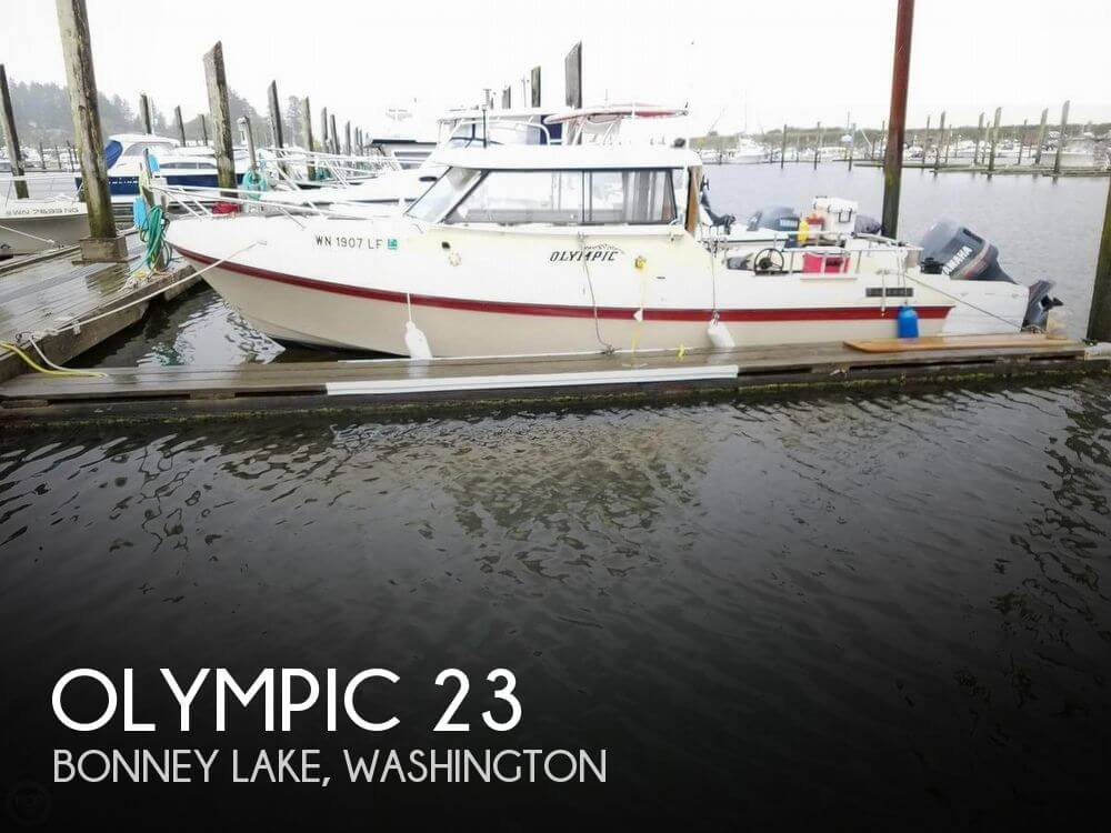 Used Olympic Boats For Sale by owner | 1987 Olympic 23