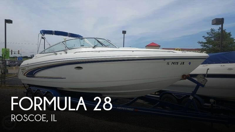 Used Boats For Sale in Rockford, Illinois by owner | 2002 Formula 28