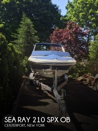 Used Ski Boats For Sale in New York by owner | 2017 Sea Ray 22