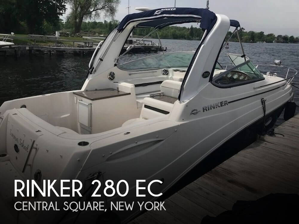 Used Boats For Sale in Syracuse, New York by owner | 2009 Rinker 28
