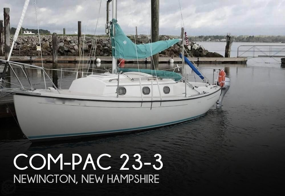 1994 Com-Pac boat for sale, model of the boat is 23-3 & Image # 1 of 40