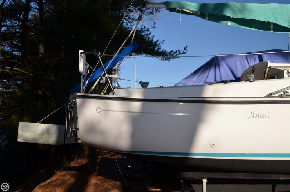 1994 Com-Pac boat for sale, model of the boat is 23-3 & Image # 31 of 40