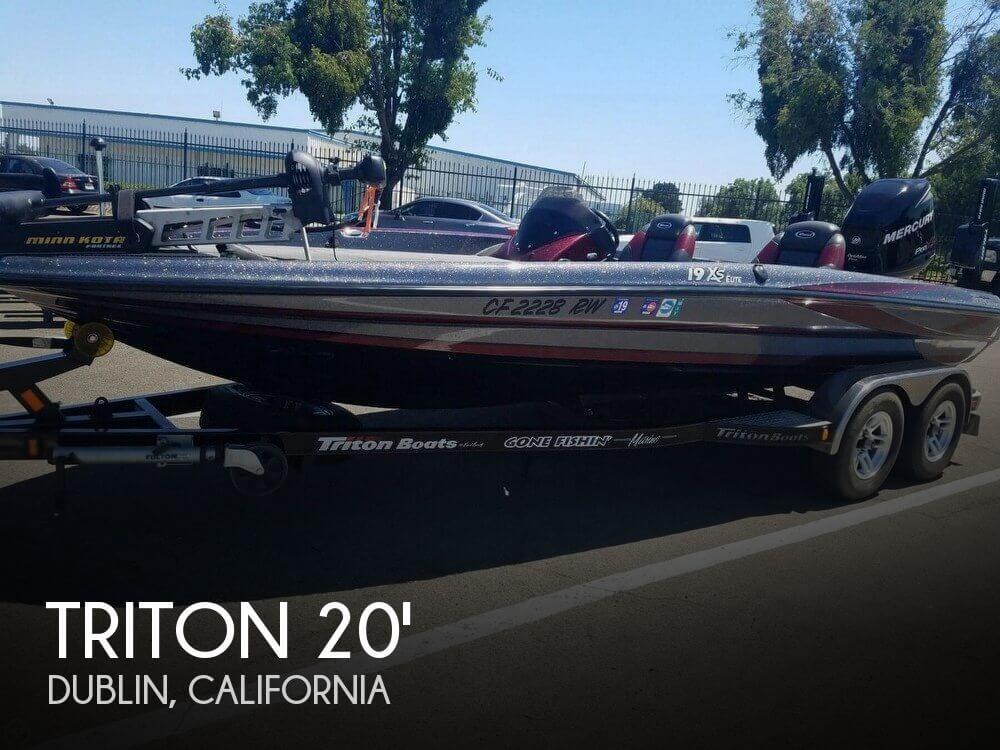 Used Boats For Sale in Santa Cruz, California by owner | 2014 Triton 19