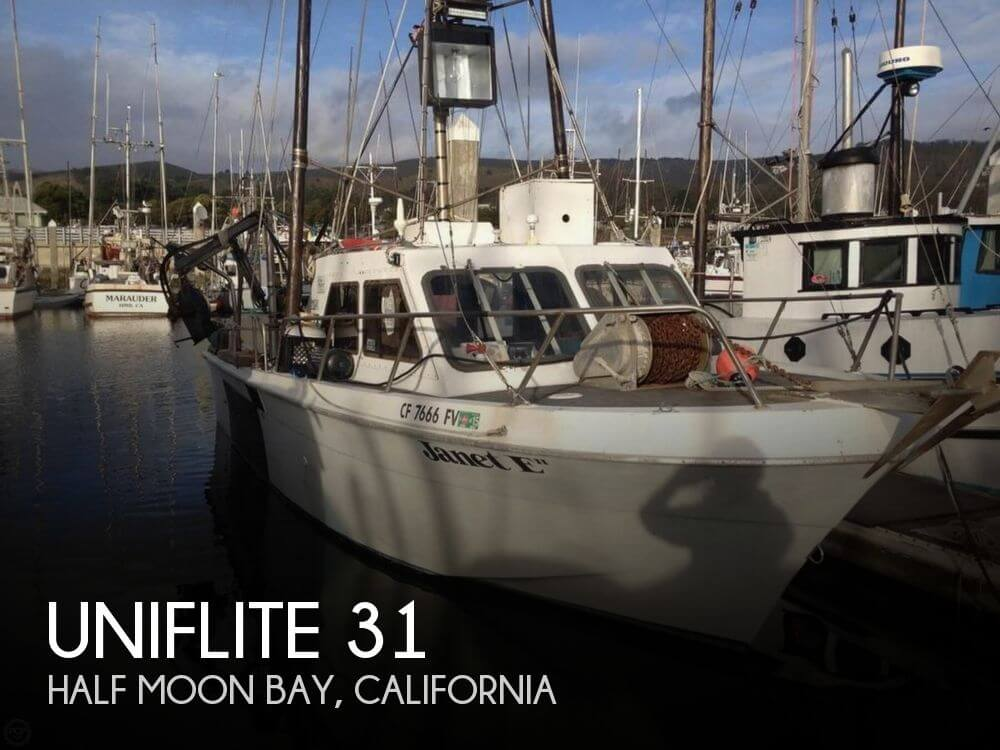 Used Boats For Sale in Santa Cruz, California by owner | 1977 Uniflite 31