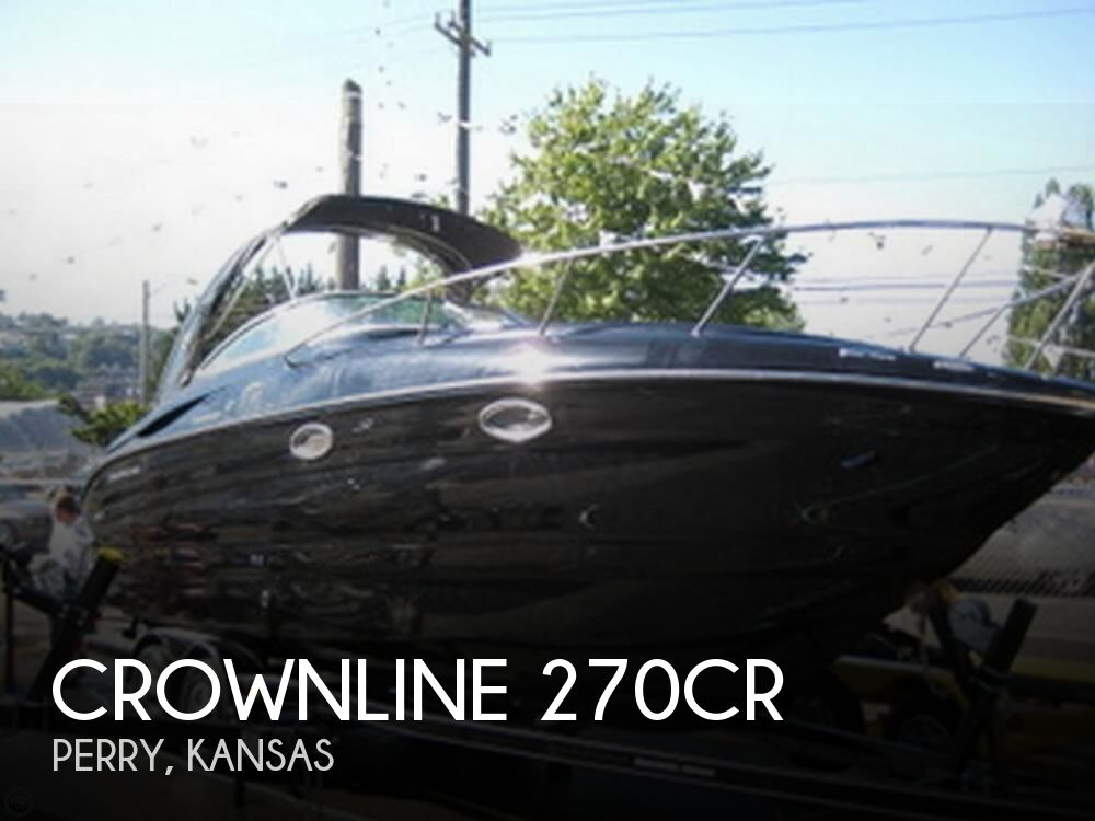 Used Boats For Sale in Kansas by owner | 2007 Crownline 270CR