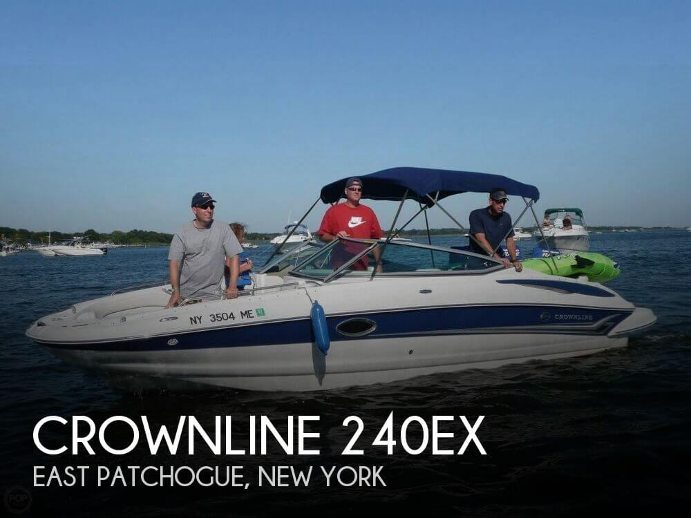 Used Crownline Deck Boats For Sale by owner   2006 Crownline 24