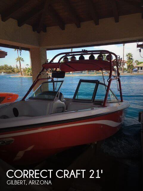 Used Correct craft Boats For Sale by owner   2005 Correct Craft 21