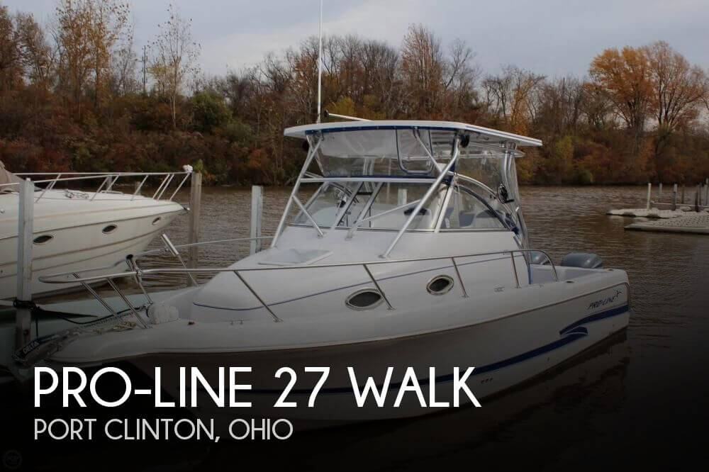 Used Boats For Sale in Cleveland, Ohio by owner | 2003 Pro-Line 27 WALK