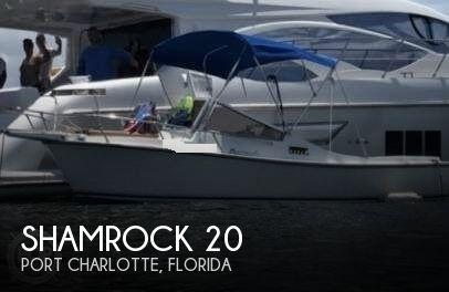 Used Shamrock Boats For Sale by owner   1985 Shamrock 20
