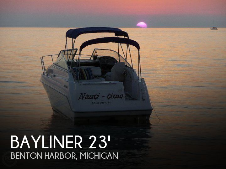 Used Bayliner Boats For Sale in Michigan by owner | 1998 Bayliner 23