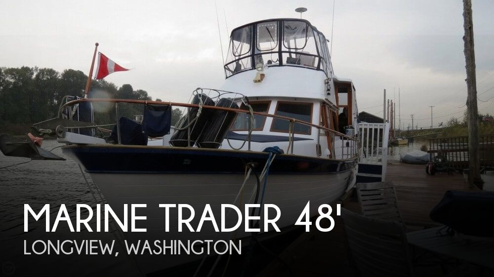 Used Boats For Sale in Portland, Oregon by owner | 1982 Marine Trader 48