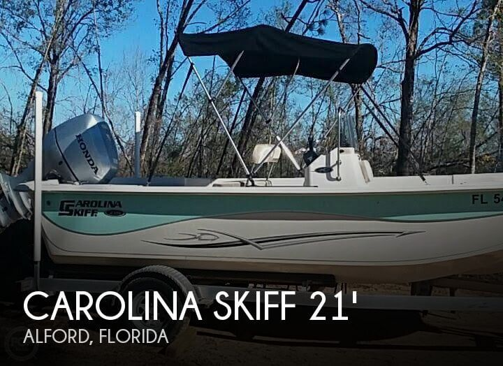 Used Boats For Sale in Dothan, Alabama by owner | 2013 Carolina Skiff 21