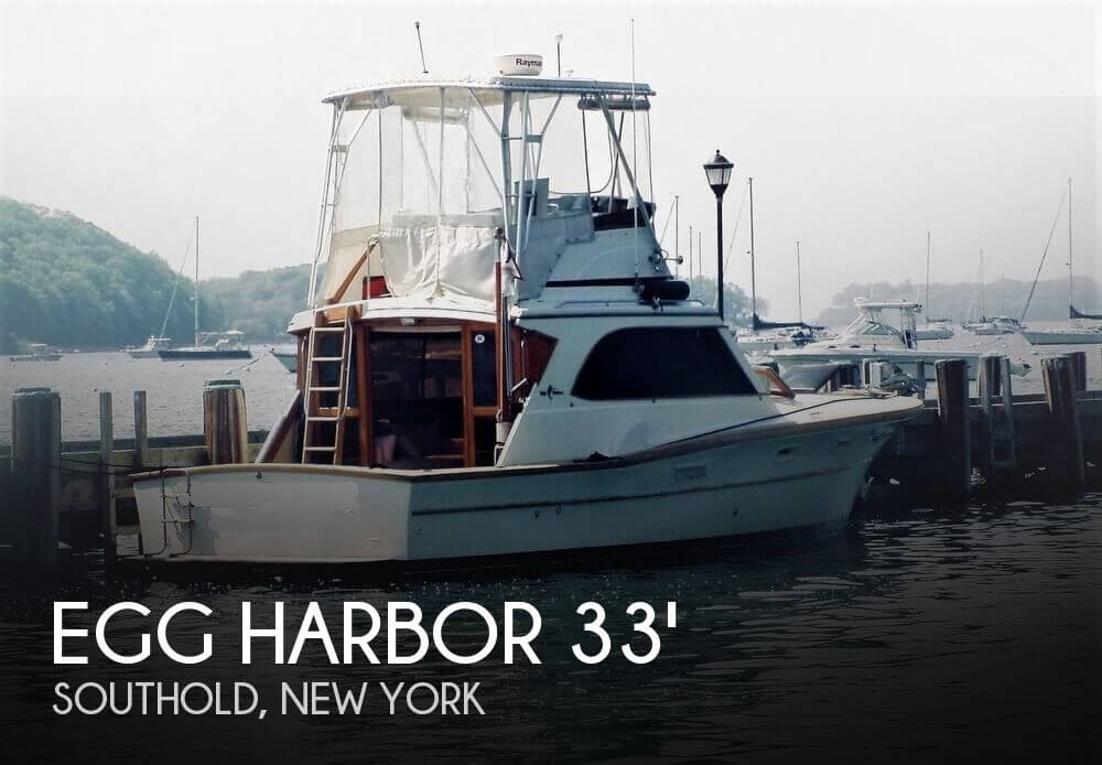 Used Boats For Sale in Providence, Rhode Island by owner | 1978 Egg Harbor 33 Convertible