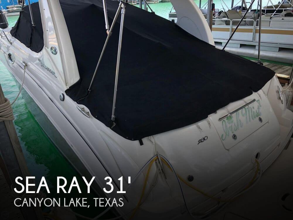 Used Boats For Sale in Austin, Texas by owner | 2006 Sea Ray 280 Sundancer