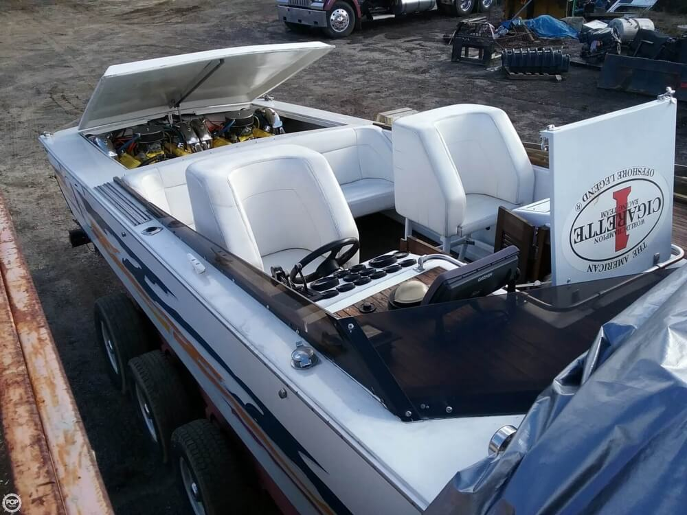 1977 Cigarette boat for sale, model of the boat is Mistress 35 & Image # 26 of 41
