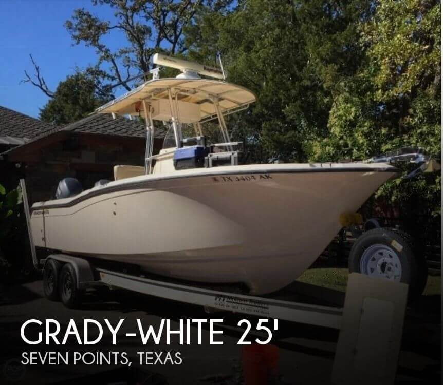 Used Boats For Sale in Tyler, Texas by owner | 2007 Grady-White 25