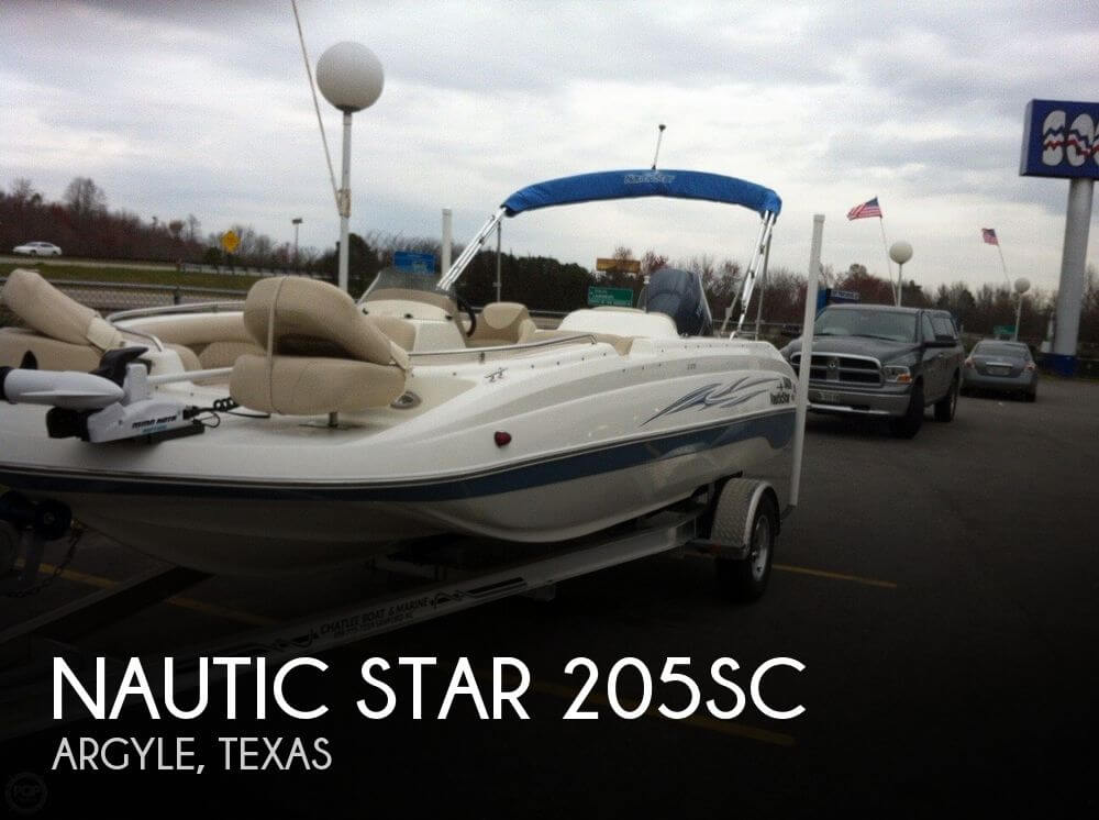 Used Deck Boats For Sale in Texas by owner | 2011 Nautic Star 205SC