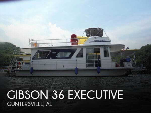 Used Houseboats For Sale by owner | 1980 Gibson 36
