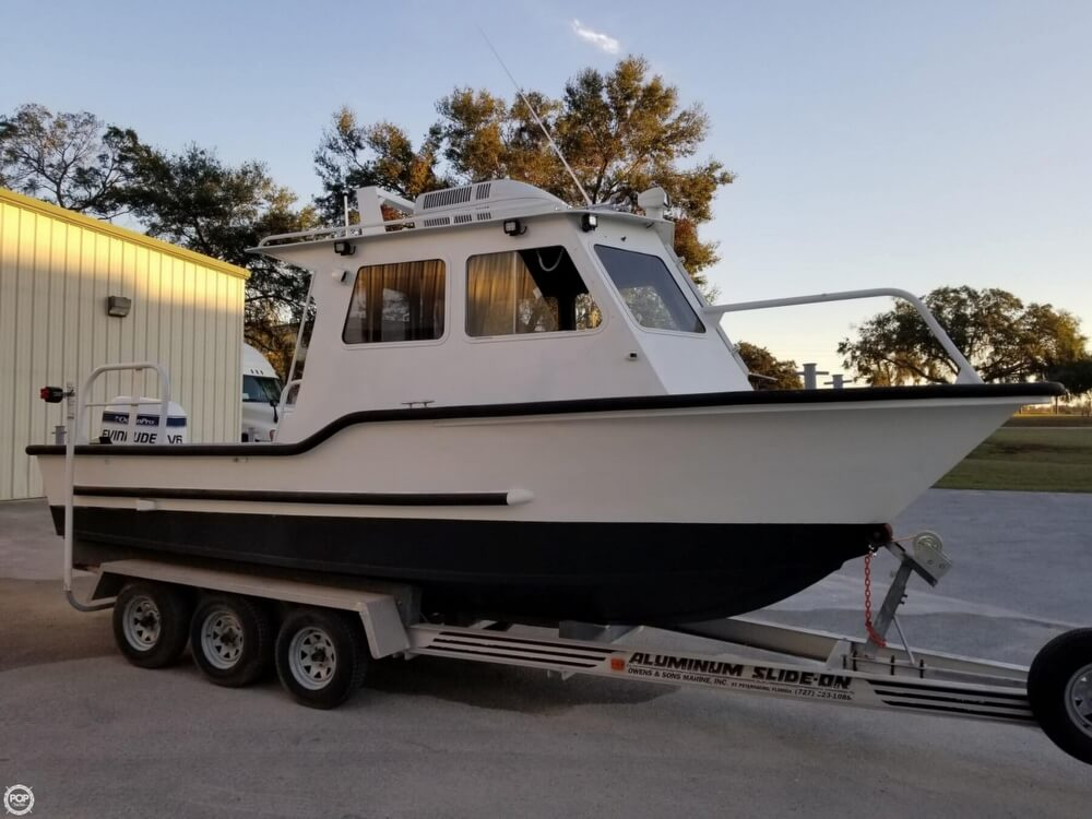 1985 Monark boat for sale, model of the boat is 23 Commercial & Image # 4 of 40