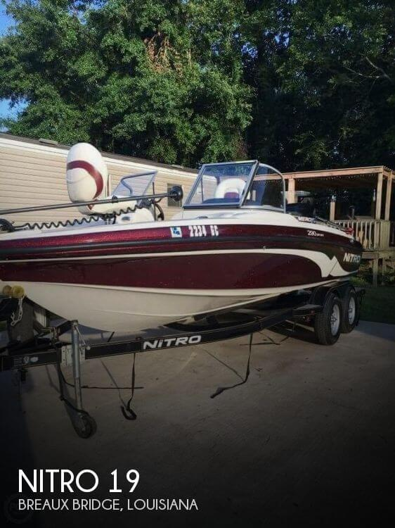 Used NITRO Fishing boats For Sale by owner | 2013 Nitro 19