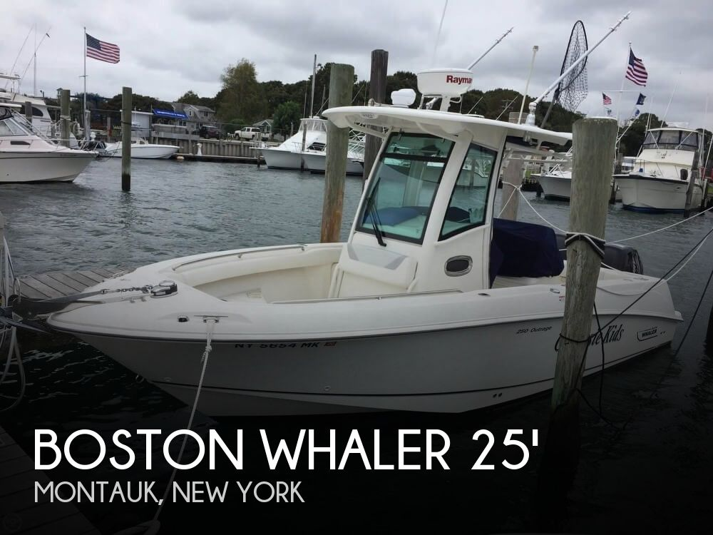 Used Boats For Sale in Hartford, Connecticut by owner | 2014 Boston Whaler 25 Outrage