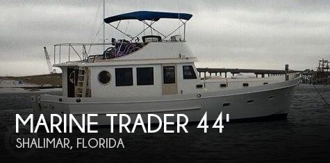 Used Marine Trader Boats For Sale by owner   1980 Marine Trader 44