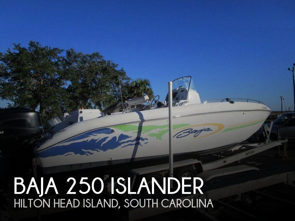 2002 Baja boat for sale, model of the boat is 250 Islander & Image # 1 of 40
