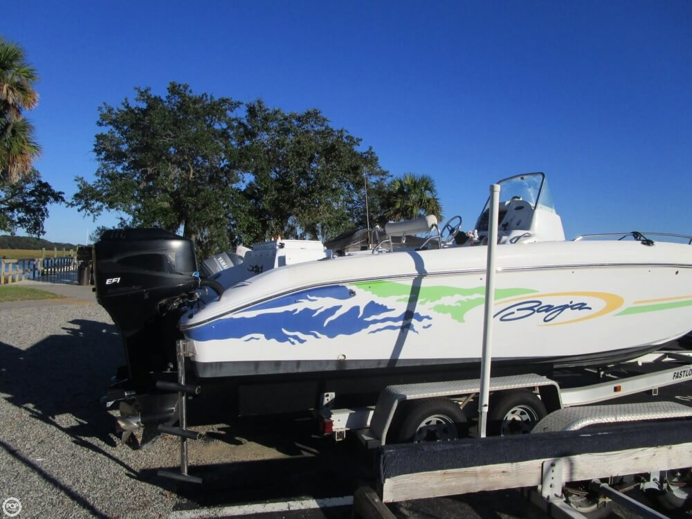 2002 Baja boat for sale, model of the boat is 250 Islander & Image # 8 of 40