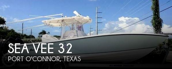 Used Boats For Sale in Corpus Christi, Texas by owner | 2008 Sea Vee 32