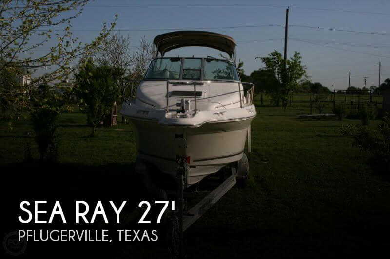 1996 Sea Ray boat for sale, model of the boat is 270 SUNDANCER & Image # 1 of 31