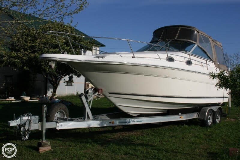 1996 Sea Ray boat for sale, model of the boat is 270 SUNDANCER & Image # 5 of 31