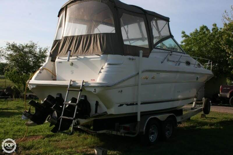 1996 Sea Ray boat for sale, model of the boat is 270 SUNDANCER & Image # 10 of 31