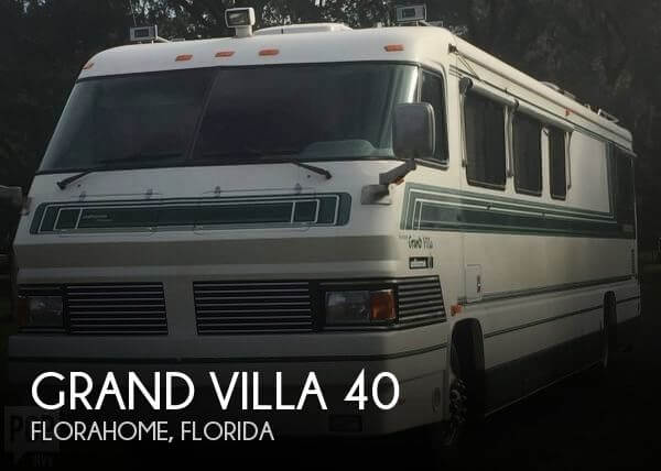 1994 Foretravel Motorcoach Grand Villa 40