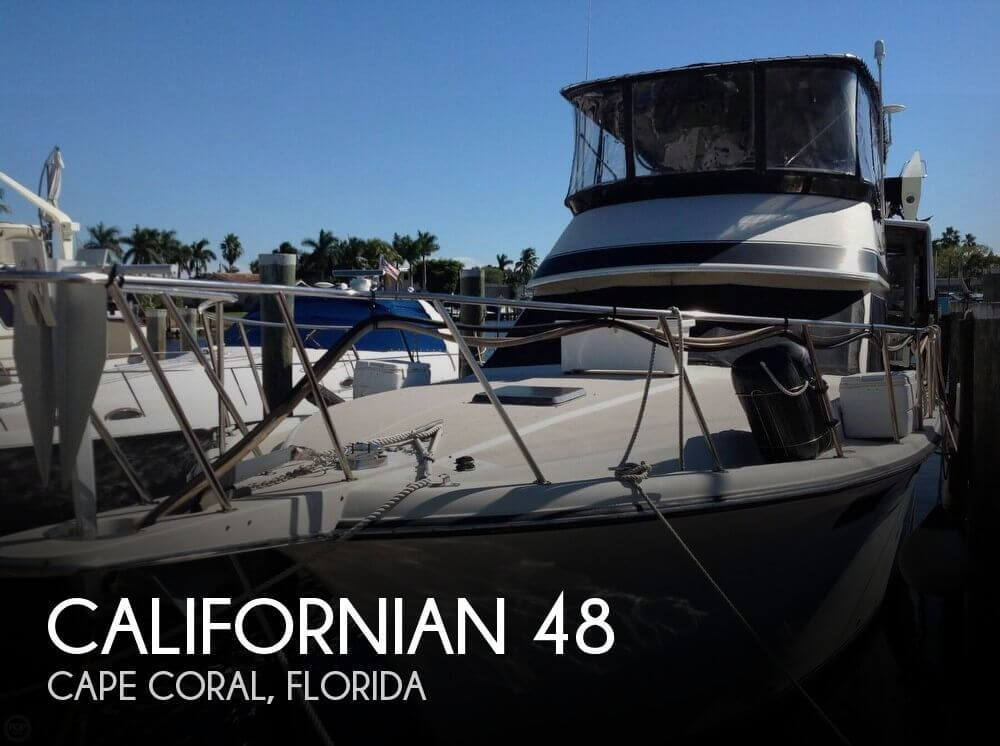 Used Californian Boats For Sale by owner | 1986 Californian 48