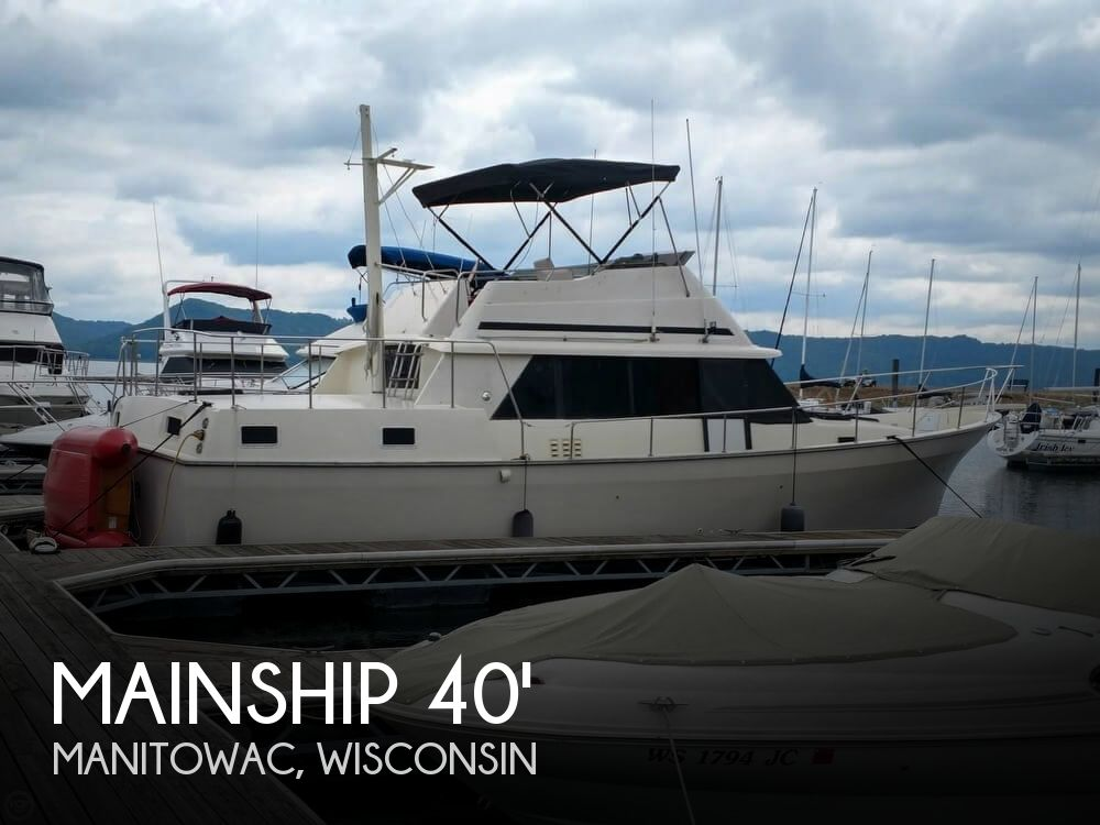 Used Boats For Sale in Appleton, Wisconsin by owner | 1987 Mainship 40