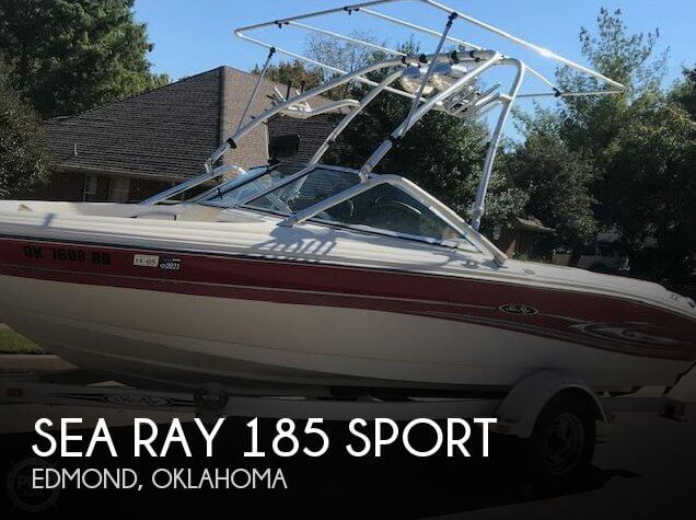 Used Boats For Sale in Oklahoma City, Oklahoma by owner | 2005 Sea Ray 185 Sport