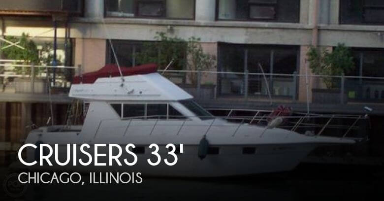 1990 CRUISERS YACHTS 3380 ESPRIT for sale