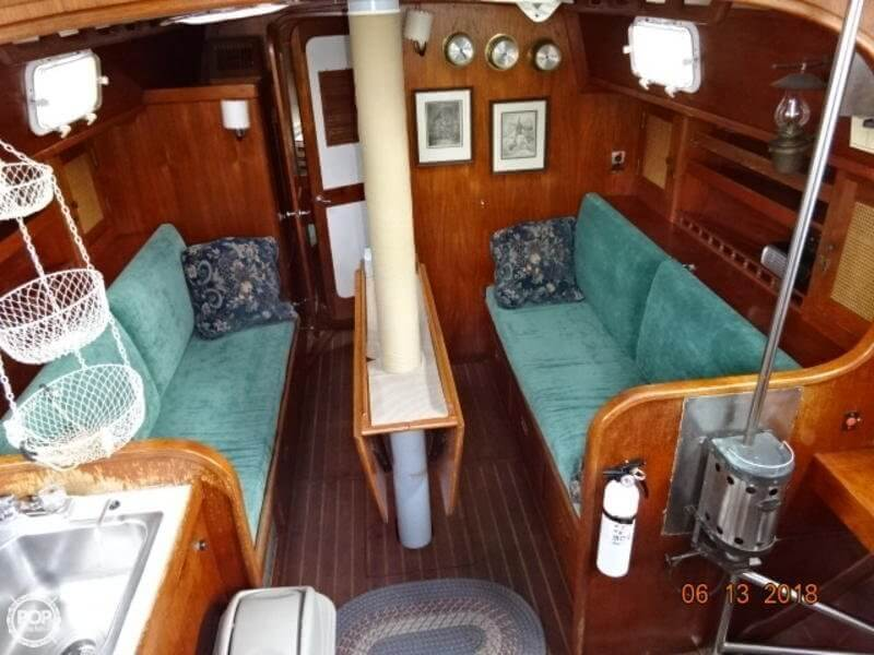 1978 Gulfstar boat for sale, model of the boat is 43 MK II Center Cockpit Ketch & Image # 9 of 40