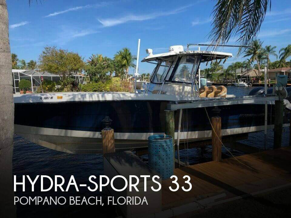 Used Hydra-Sports Boats For Sale by owner | 2006 Hydra-Sports 33