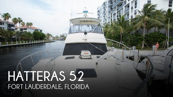 Used HATTERAS Boats For Sale by owner | 1984 Hatteras 52