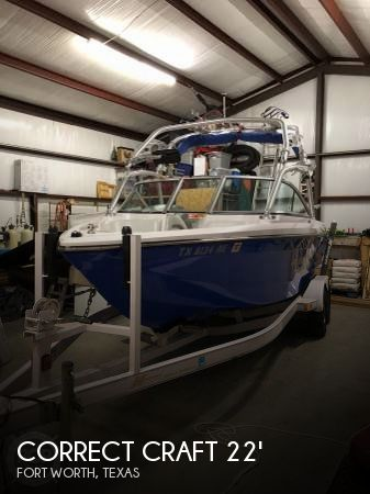 Used Correct craft Boats For Sale by owner | 2006 Correct Craft 22